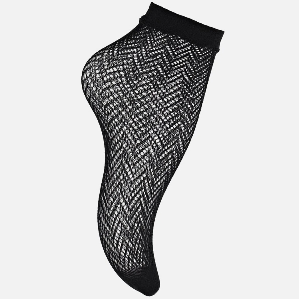 Palmers Trendy Zig Zag Ladies Net Socks