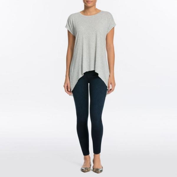 Spanx Jean-ish® Ankle Leggings Dark Blue