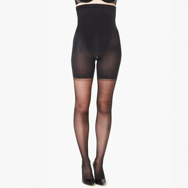 Spanx Firm Believer Ladies High-Waisted Sheers Black