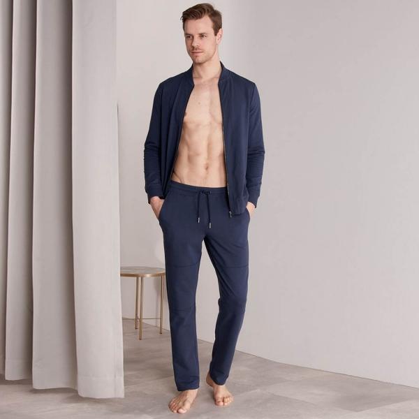 Palmers Classic Lounge Men's Homewear Pants Dark Blue