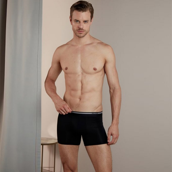 Palmers Authentic Modal Men's Pants Red-Black