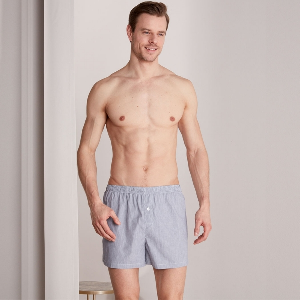 Palmers Twin Pack Men's Boxer Shorts Grey-Coloured