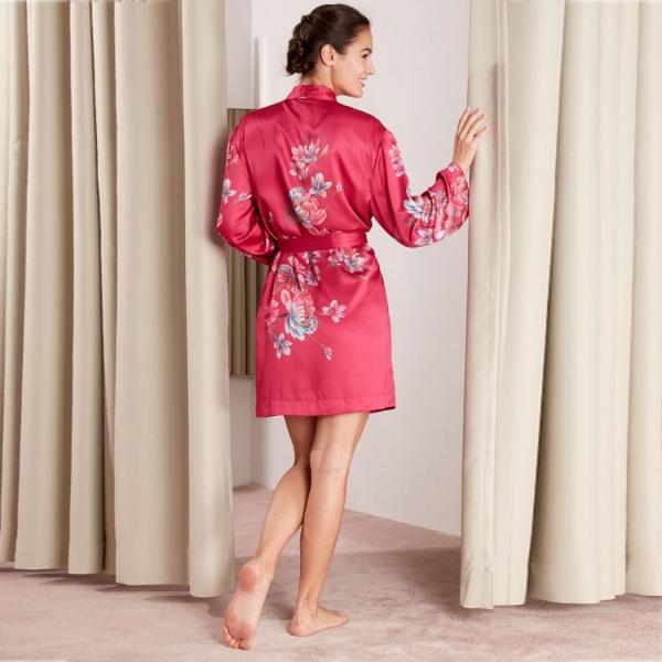 Palmers Blossom Valentine Ladies Dressing Gown