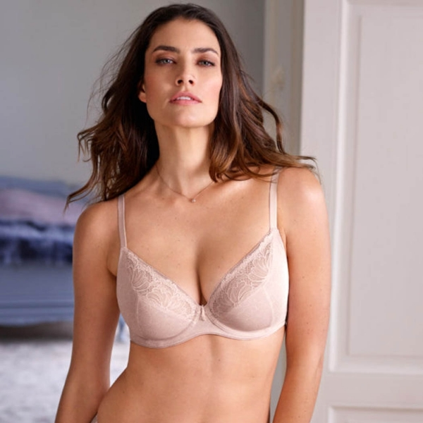 Conturelle By Felina Magnolia Ladies Triangle Bra Silk