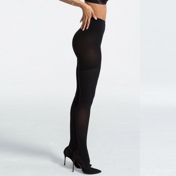 Spanx Pantyhose Luxe Leg Very Black 60 DEN